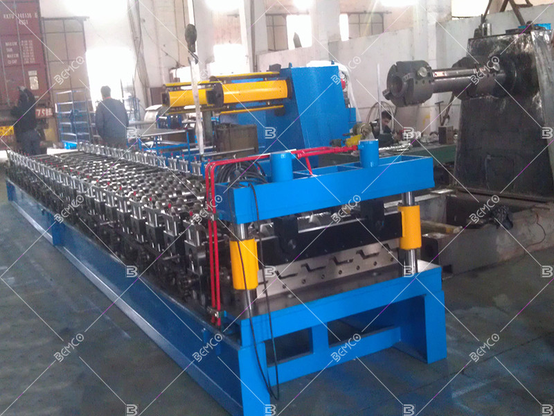 Trapezoidal-Profile-Sheet-Making-Machine