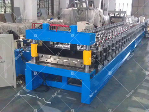 Trapezoidal-Profile-Sheet-Roll-Forming-Machine