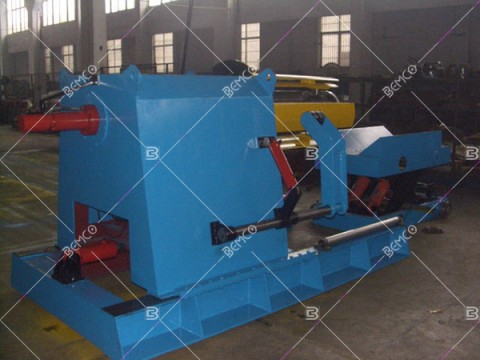 10ton-hydraulic-uncoiler-with-loading-car