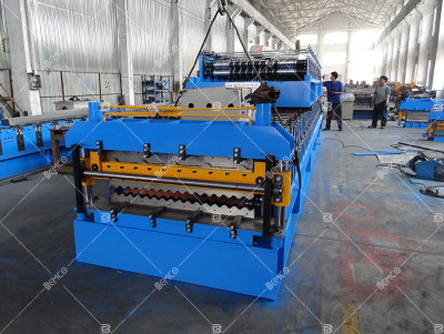 double-layer-panel-roll-forming-line
