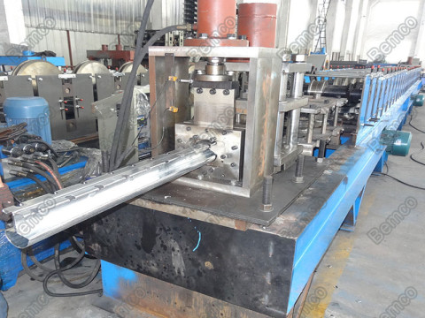 fence-post-rail-roll-forming-machine