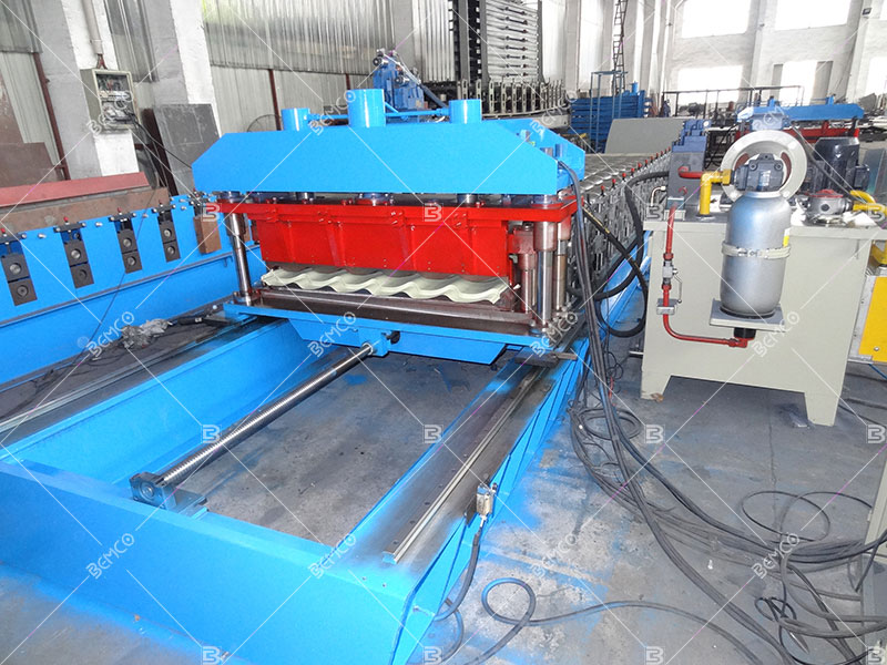 Metal Siding Wall Panel Roll Forming Machine Cable Tray