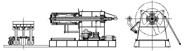 uncoiler-machine-layout